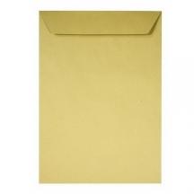 Конверт (пакет) С4 (229х324мм) ст., 90г/м2, крафт с расширением