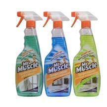 Засіб Містер мускул для миття вікон з курком-розпилювачем (500мл)