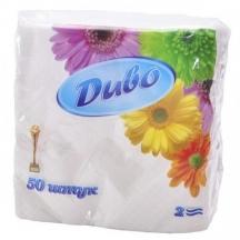 Серветки білі Диво (уп. 50шт)