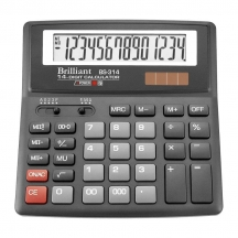 Калькулятор 14 разрядов ВS 314 Brilliant