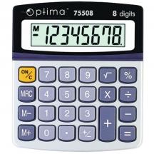 Калькулятор 8 раз (Optima) О75508