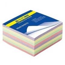 Папір 90 * 90, 500 л. непроклеяний (кольоровий)