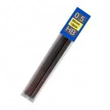 Грифель для карандаша механического 0,5 мм, твердость HB, 12 шт. в уп.