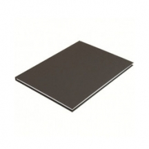 Книга канцелярская А4, офсет, обкл. твердая ламинированная, 96 л., лин.
