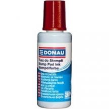 Краска штемпельная (DONAU) 30мл красная
