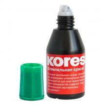 Краска штемпельная (KORES) зеленая
