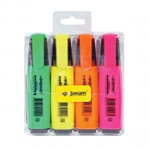 Набір маркерів для фліпчарт, 4 шт