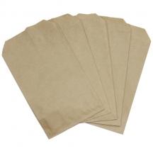 Пакеты для монет 110x150 мм, бумага крафт