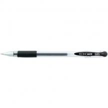 Ручка гелева Economix - чорна