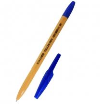 Ручка шариковая, ECONOMIX YELLOW PEN, синяя